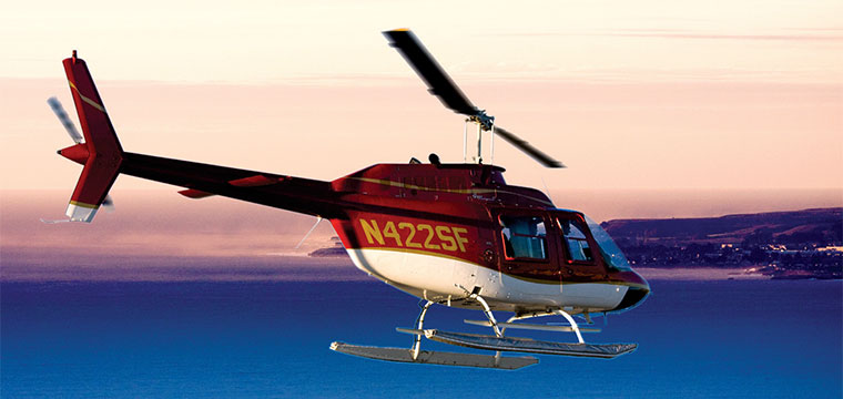 Monterey Excursions Specialized Helicopter