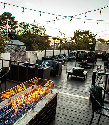 Carmel by the Sea Starlight Rooftop Lounge