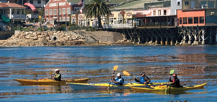 Water Attractions Kayaking